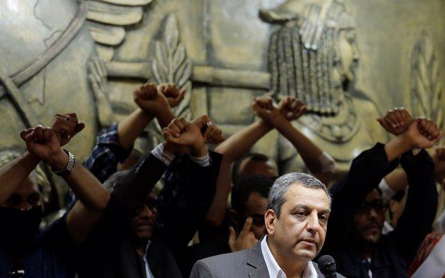 El secretario general del Sindicato de la Prensa egipcio, Yehia Qalash o Kalash
