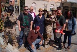 Murcia acoge la mayor 'zombie walk' de su historia en el marco de la VI Edición del C-FEM