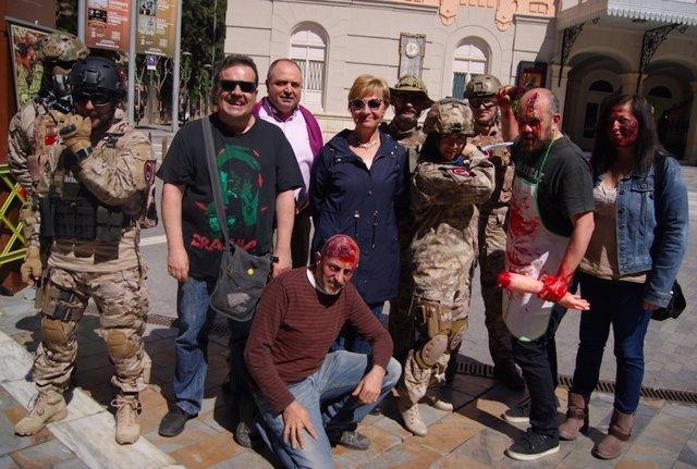 Murcia acoge la mayor 'zombie walk' de su historia