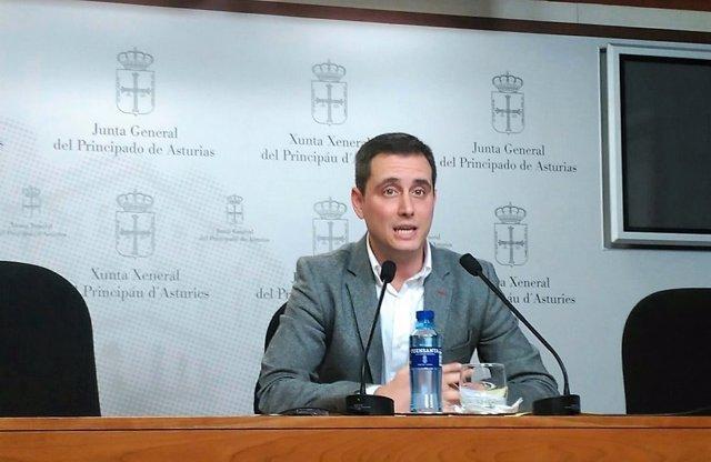 David González Medina en rueda de prensa.