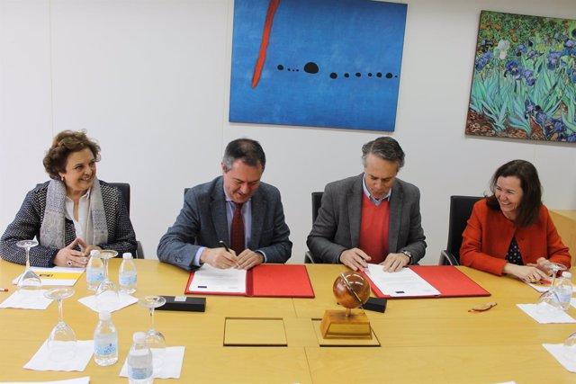 Convenio de colaboración entre el Ayuntamiento de Sevilla y Cisco