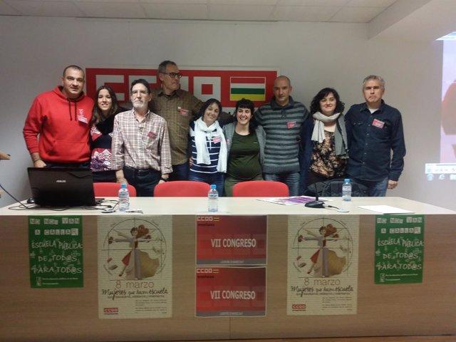 Congreso de la Federación de Enseñanza de CCOO La Rioja