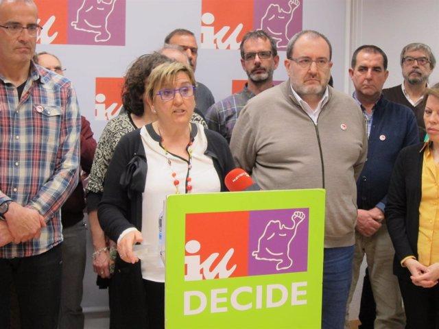 Marisa de Simón presenta su candidatura a coordinadora general de IUN