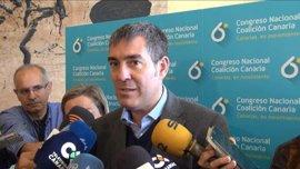 """Clavijo afirma que sólo CC tiene """"un modelo de Canarias"""""""