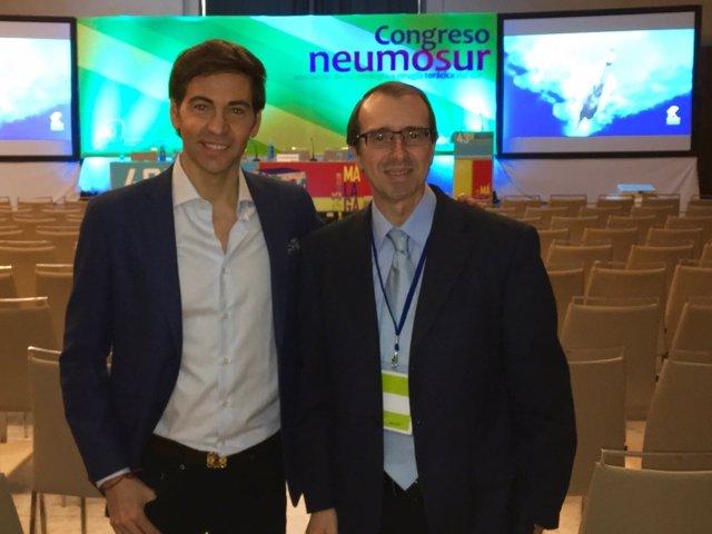 David Meca en Congreso de Neumosur