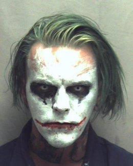 Detenido un individuo disfrazado como el Joker de los comics de Batman