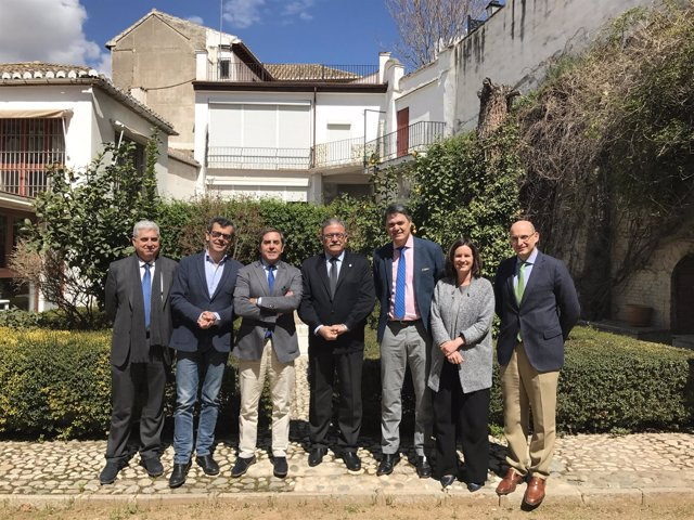 Reunión del PP con el Colegio de Abogados de Granada