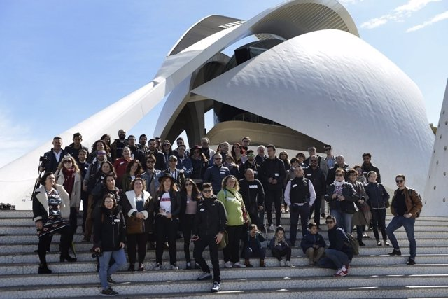 Algunos de los participantes son de Italia y Portugal