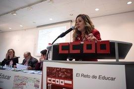 Conchi Sánchez, reelegida secretaria general de la Federación de Enseñanza de CCOO