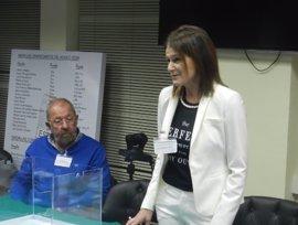 Julia Casanueva, reelegida presidenta de la Real Federación Española de Vela