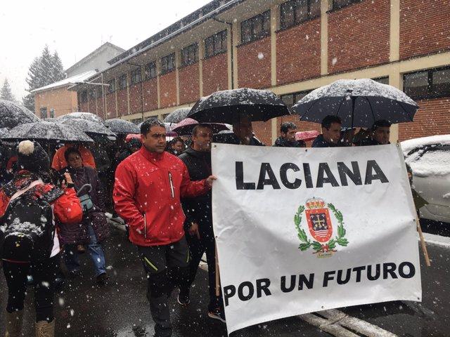 León.- Marcha en Villablino por el carbón