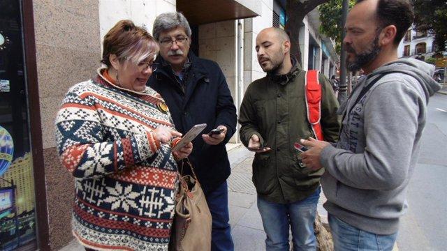IU plantea instalar wifi gratuito en Huelva.