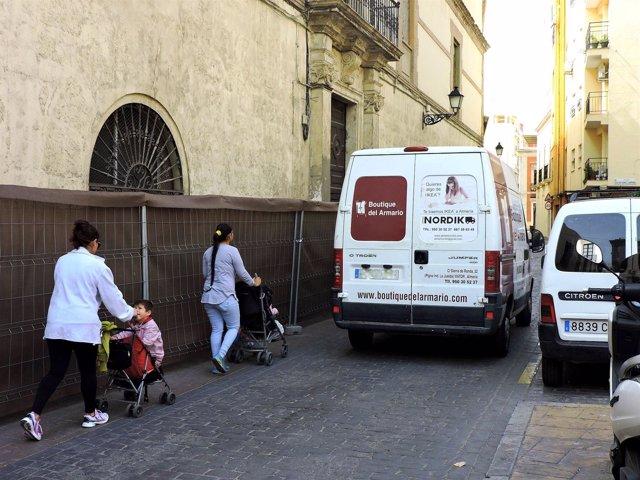 Calle del Hospital Provincial de Almería