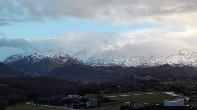 Montañas nevadas.