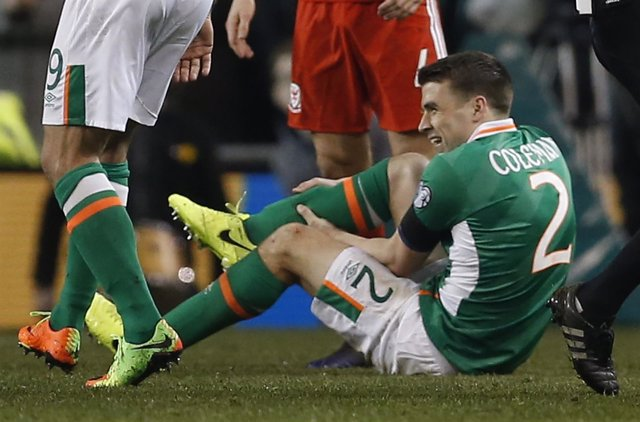 Seamus Coleman, jugador del Everton y de la selección irlandesa