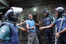 Tres muertos en dos explosiones durante una operación antiterrorista en el noreste de Bangladesh