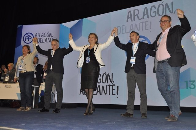 XIII Congreso del PP en Aragón