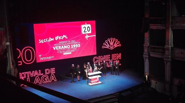 Clausura del Festival de Málaga