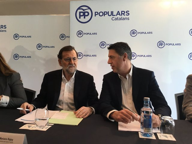 Mariano Rajoy, Xavier García Albiol (PP)