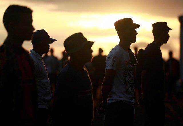 Miembros de las Fuerzas Armadas Revolucionarias de Colombia (FARC)