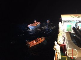 MSF y Sos Mediterranee rescatan a 645 personas de las aguas del Mediterráneo en las últimas horas