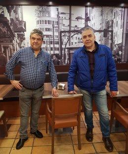 Los dos antiguos trabajadores reacondicionan el local.