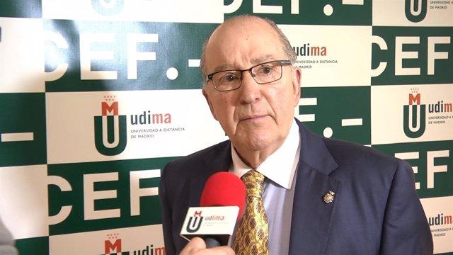 Carlos García Valdés, exdirector general de Instituciones Penitenciarias