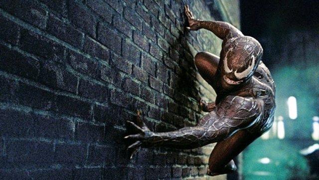 Venom en un fotograma de Spiderman 3