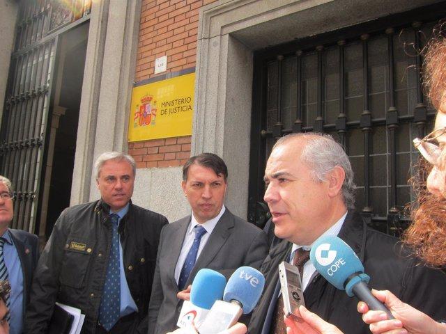 Pablo Llarena, portavoz de la APM