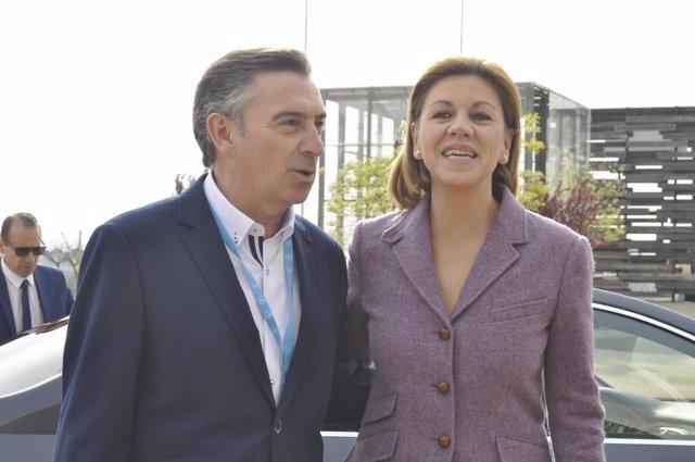 Luis María Beamonte y María Dolores de Cospedal