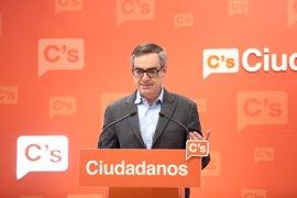 """Villegas (Cs): """"La solución para Murcia es un presidente limpio o que los ciudadanos hablen en las urnas"""""""