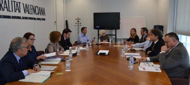 Jornada de trabajo entre la Generalitat y  Aragón para impulsar el turismo