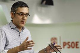 """Madina, con Susana Díaz: """"Este pabellón escribe el instante inicial de un nuevo comienzo para la historia del PSOE"""""""