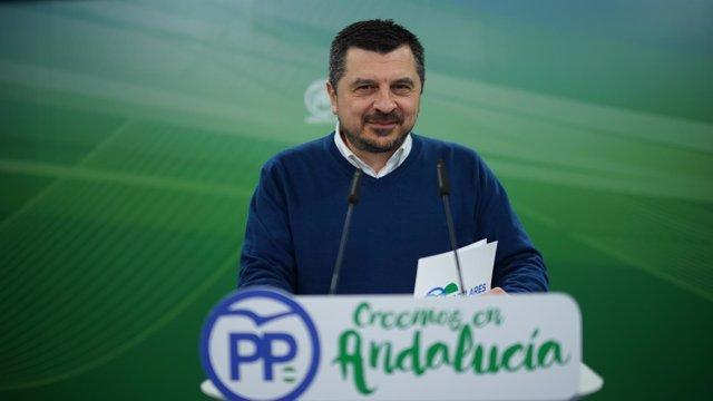 Vicesecretario de Organización y Formación del PP-A, Toni Martín.