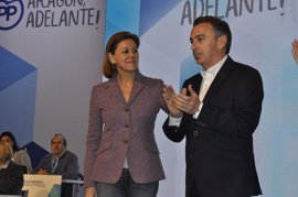"""Beamonte (PP) dice """"no y no"""" al trasvase del Ebro y apela a los acuerdos electorales con el PAR"""
