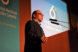 José Miguel Barragán, reelegido secretario general de Coalición Canaria