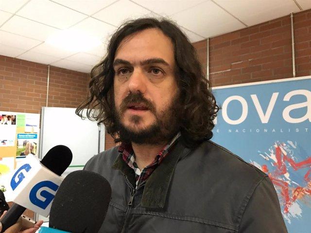 Antón Sánchez, cabeza de lista de la única candidatura para Anova