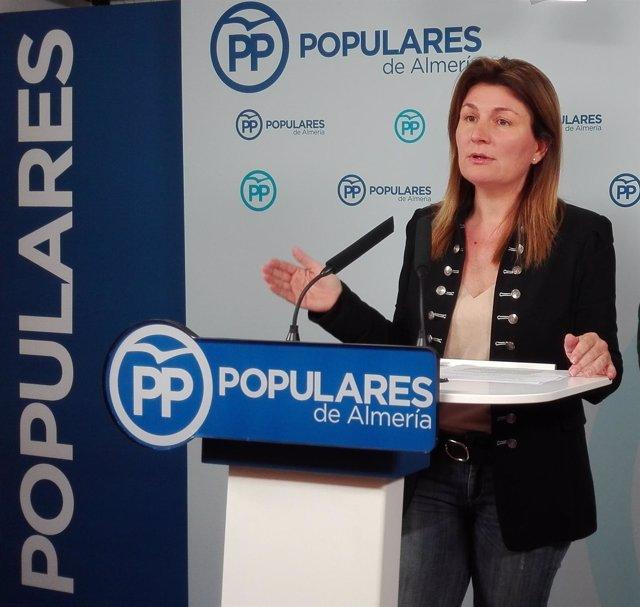 La diputada del PP-A Rosalía Espinosa