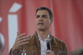 """Sánchez dice que la Comunitat será """"eje"""" del Corredor y tendrá """"la financiación que merece"""" si gobierna"""