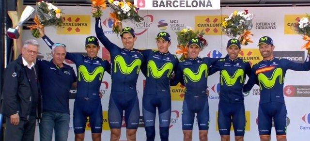 Volta Catalunya equipo Movistar