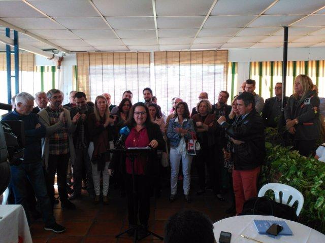 Prieto carmen dimite ciudadanos parlamentaria diputada andalucía