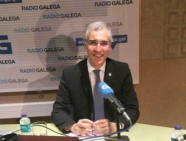 Radio Galega A Entrevista 26 03 17 Conselleiro De Economía, Emprego E Industria