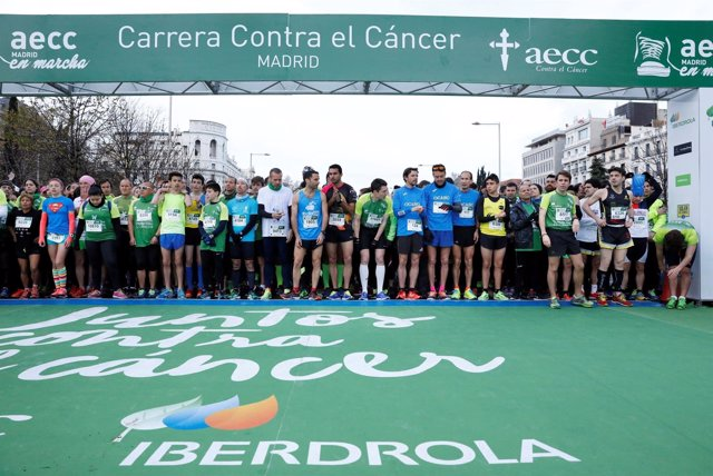 Fotografías / 15.000 Participantes En La Iv Carrera Madrid En Marcha Contra El C