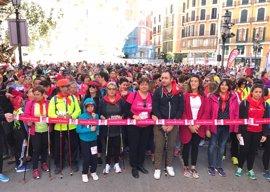 1.700 personas han particiado este domingo en la II Marcha por la Igualdad Nordic Walking