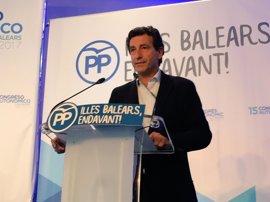 Company apela a la unidad y pide olvidar las diferencias del pasado en su discurso como nuevo presidente del PP balear