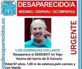 Buscan a un vecino de Vigo de 67 años desaparecido desde la tarde del sábado