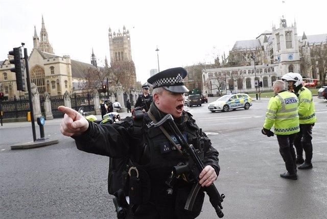 Incidente terrorista en Londres, cerca del Parlamento británico