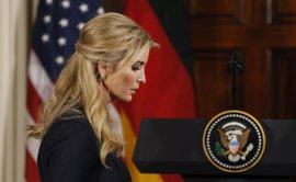 Ivanka Trump acepta la invitación de Merkel para asistir a un foro de mujeres auspiciado por el G20