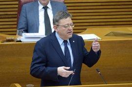 Puig responderá en las Corts a preguntas sobre empleo, inversiones del Estado y regeneración de la política valenciana