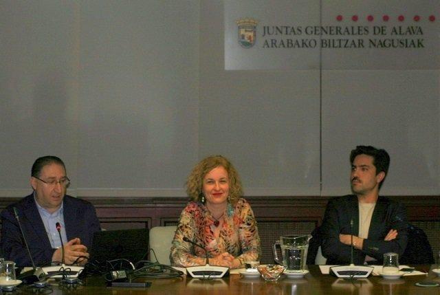 Diputada de Fomento del Empleo, Comercio y Turismo de Álava, Cristina González